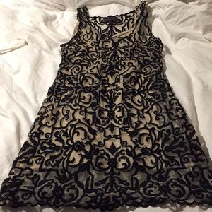 ⭐️HOST PICK!⭐️ unique Hale Bob party dress, size S
